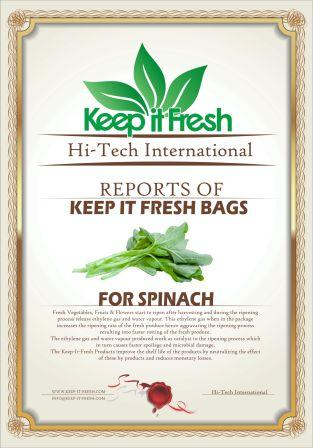 KIF Bags for Spinach